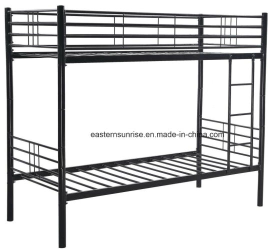 High Weight Capacity Iron Powder Coating Double Bunk Bed