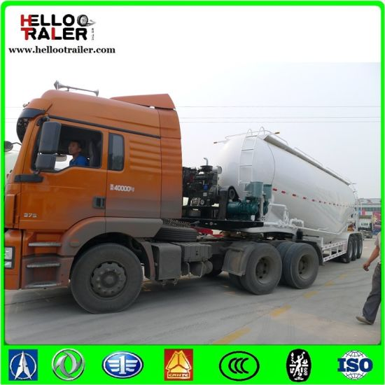 Made in China 25--60 Cbm 3 Axles Cement Bulker pictures & photos