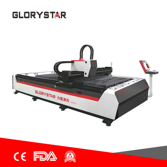 Fully Automatic Fiber Laser Cutting Machine Is Used in Agricultural (GS-3015 2000W)