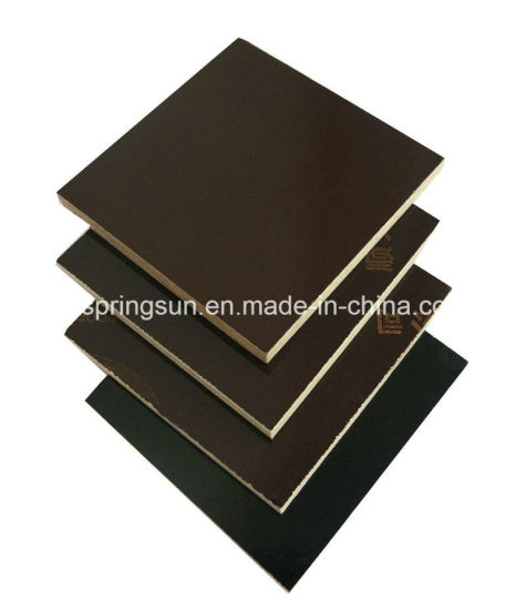 15mm Black and Brown Film Faced Plywood pictures & photos