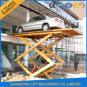 Automated Scissor Hydraulic Car Parking Lift with Ce pictures & photos