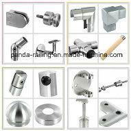 Stainless Steel Handrail Support / Glass Fitting / Side Fix Square Balustrade Bracket pictures & photos