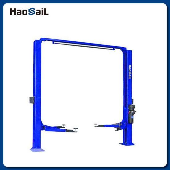 4000kg Manual Release Clear Floor Two Post Car Lift