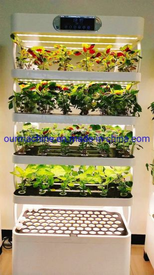 Smart Adjustable LED Light Home Indoor Greenhouse Hydroponic Growing System
