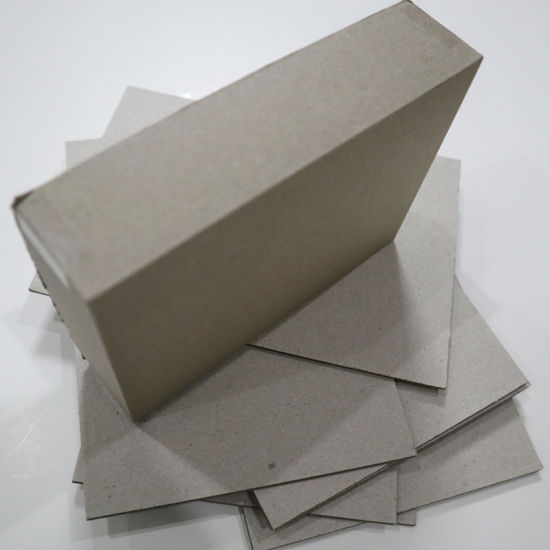 Stationery 2mm 700*1000mm Grey Chipboard for Book Binding