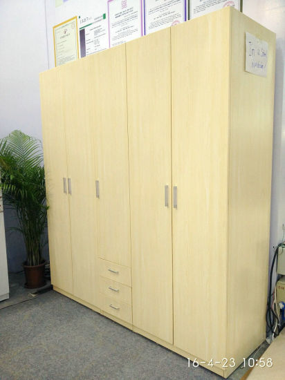 Home Furniture Steel Almirah Bedroom Wardrobe