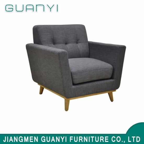 China Restaurant Relaxing Single Long Back Sofa Chair China Sofa