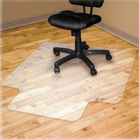 Office Pvc Gripper Backed Chair Mat