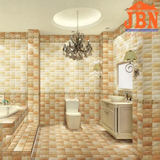 China 3D Inkjet Bathroom Glazed Ceramic Wall Tile (1LP68508A ...