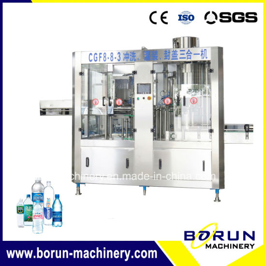 China Factory Cost Price Automatic Drinking Mineral Water Filling