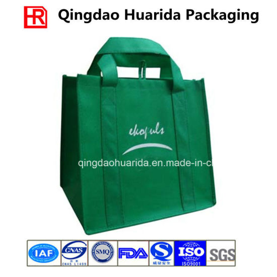Customized Die Cut Handle Tote Non Woven Fabric Shopping Bag pictures & photos