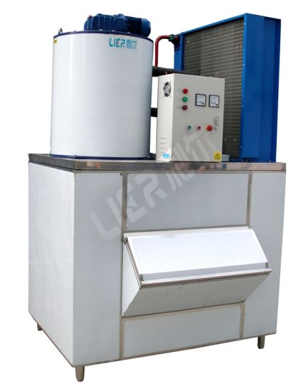 Fresh Water Flake Ice Machine for Supermarkets pictures & photos