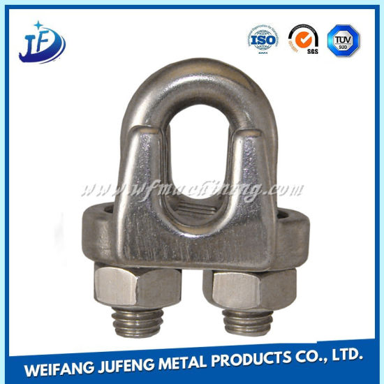 China Stainless Steel Wire Rope Clamp Clip for Engineering Hoisting ...