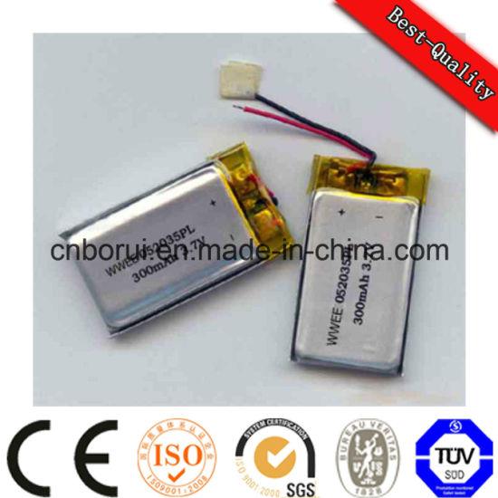 Wholesale OEM 3.7V Lithium Polymer Battery 522438 400mAh for Speaker Digital Camera Consumer Electronics MP3 Player MP4 Player
