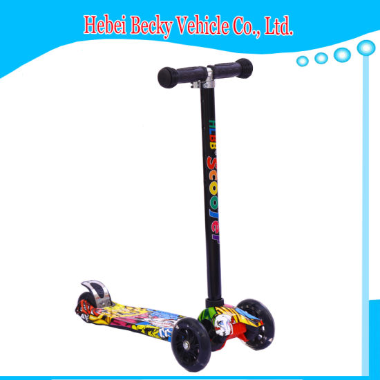 Children Scooter with Light Wheels Kids Outdoor Foot Kick Scooter