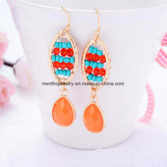 New Fashion Charm PRO-Environment Bohemian Beaded Drop Earrings Jewelry pictures & photos