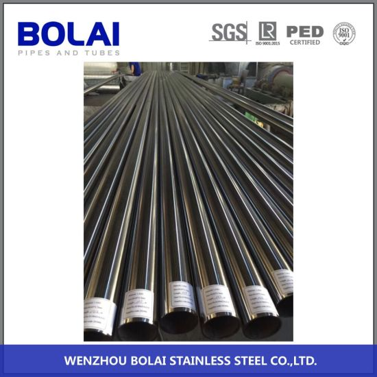 ASTM Standard Sanitary Pipe Seamless Stainless Steel Pipe Tubing with ISO Tc