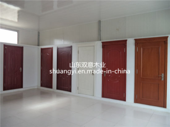 China Hot Sale Mdfpvc Interior Wooden Doors For Competitive Price