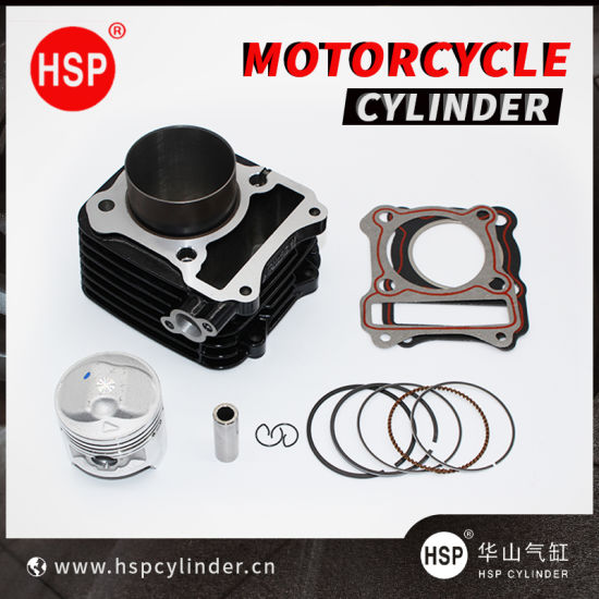 High Quality Motorcycle Parts Cylinder Block Kit for SUZUKI GS125 LARGE1 62mm GS125 LARGE2 62mm