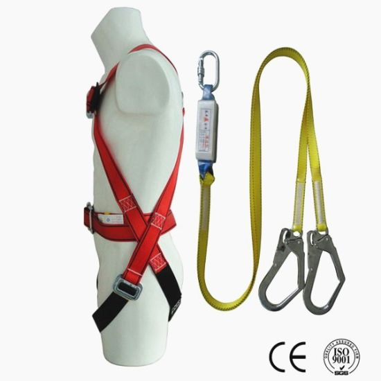 Ce High Strength Polyester Safety Belt Full Body Harness Price pictures & photos