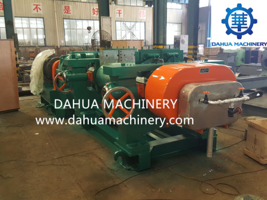 High-Efficiency Two Roller Rubber Mixing Mill