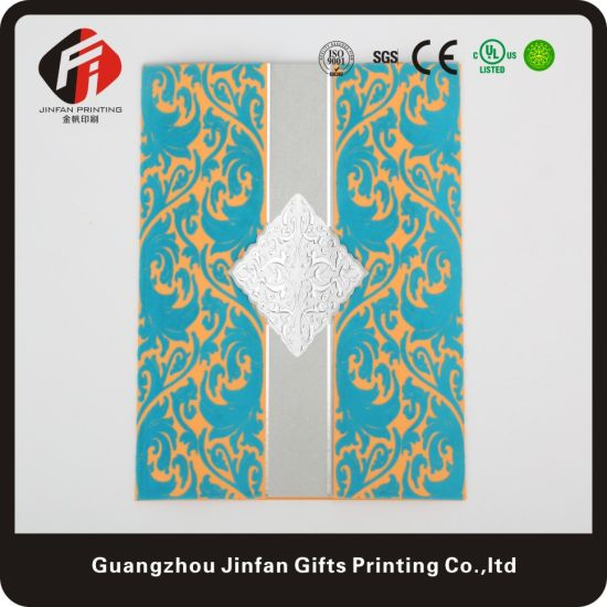 Customized Single-Page Laser Cut Wedding Invitation Card pictures & photos