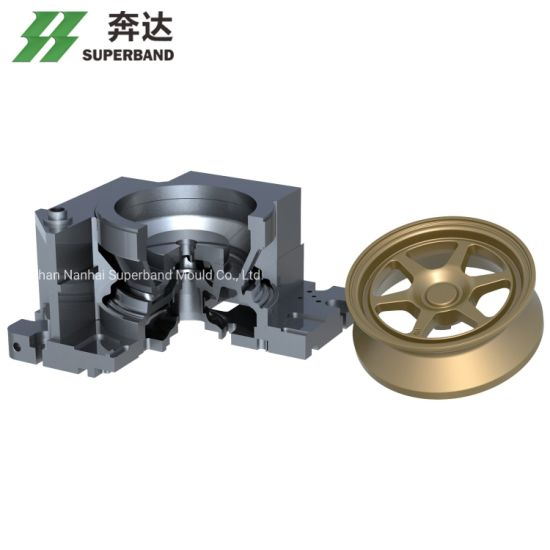 OEM Aluminum Alloy Mold for Automotive Industry ISO14001 China Manufacturer