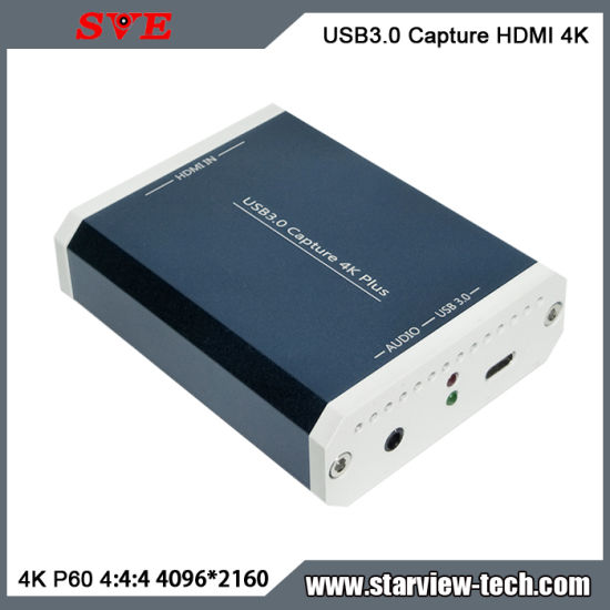 USB3.0 Capture HDMI 4K Plus