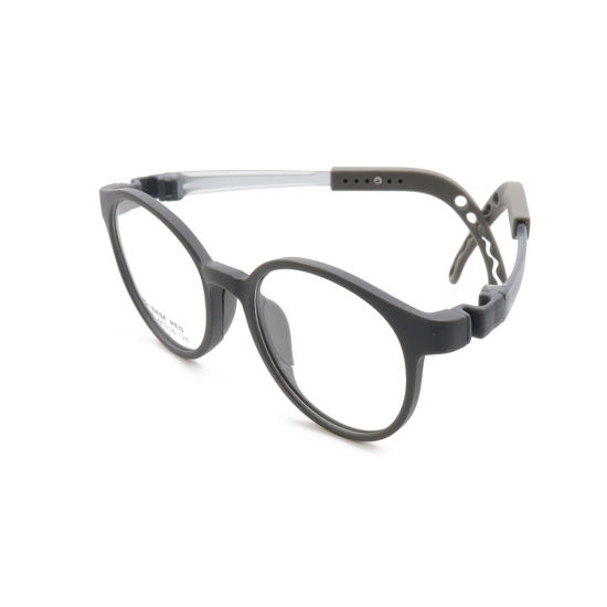 Wholesale Factory Custom Colorful Cute Style Spectacles Soft Tr90 Round Optical Eyeglasses Frame for Kids
