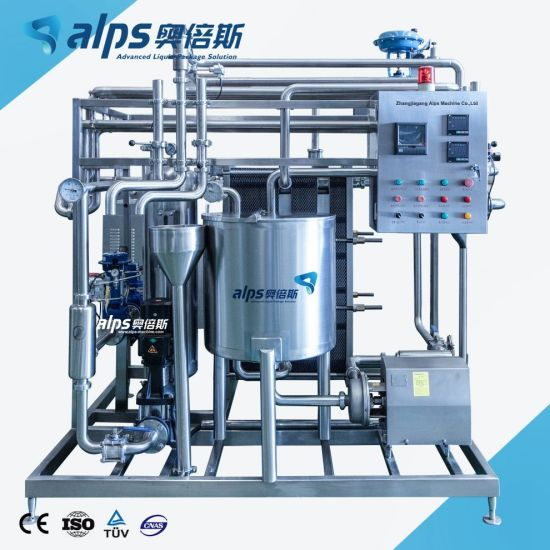 Top Quality Whole Set Pasteurizing Equipment for Juice Tea Coffee Drinks Production Line