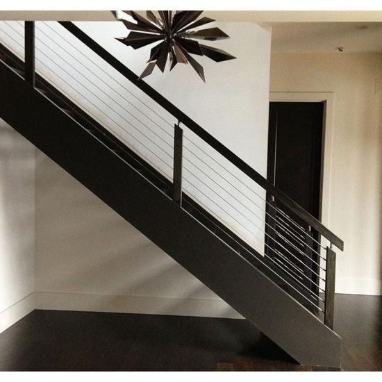 China Singapore Modern Powder Coated Aluminum Stair ...