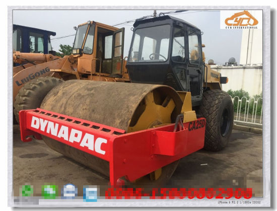 Used Dynapac Machinery Road Roller Dynapac Ca25 Roller for Sale (ca251, ca301, ca25D, ca25, ca30d, ca30pd, ca25pd)