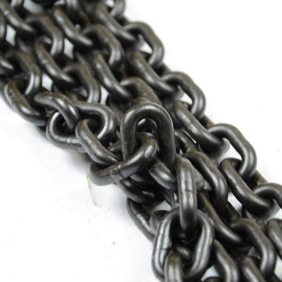 En 818-2 G80 Alloy Steel Industrial Lifting High Tensile Chain Manufacturer