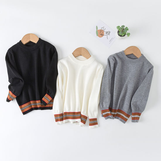 Thin Knitwear Tops Children Autumn Baby Clothes Boys Cashmere Sweaters