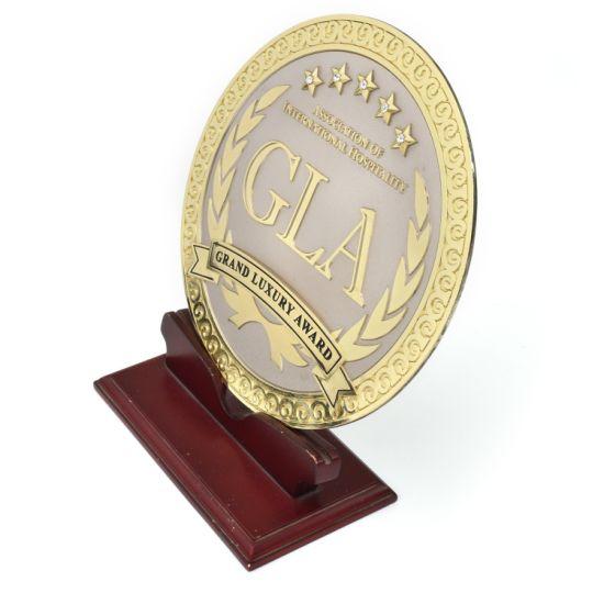 Professional Artificial Custom Round Shaped Logo Custom Casting Award Medal