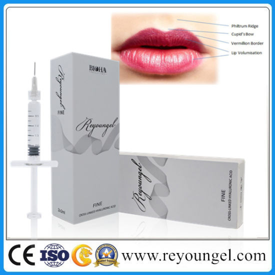 Reyoungel Hyaluronate Acid Gel Dermal Filler for Lip Fullness pictures & photos