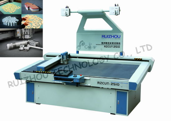 Vibrating Knife CNC Leather Cutting Machine (RZCUT-2510) pictures & photos