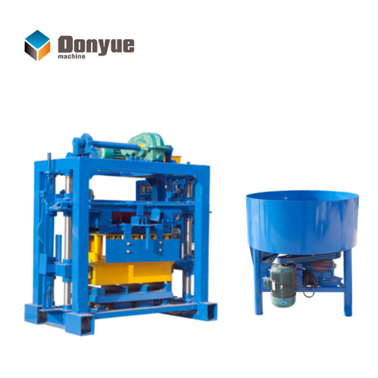 Dongyue Factory Durable Qt40-2 Manual Brick Making Cutting Machine Price for Sale