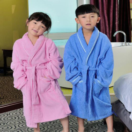 Children Bathrobe & Pajamas with High Quality Terry Cloth (DPF10129)