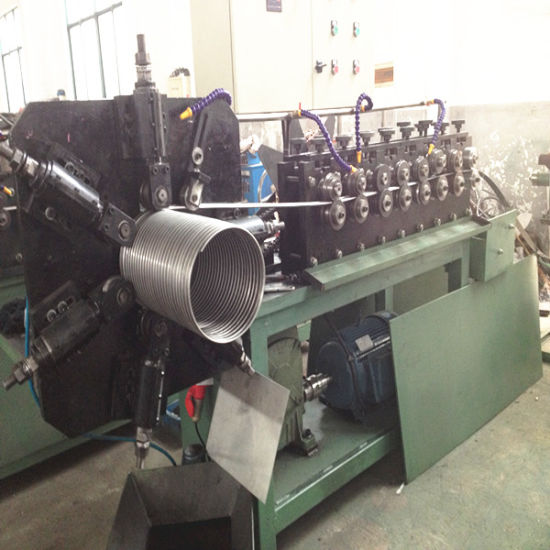 Exhaust Flexible Interlock Conduit Making Machine pictures & photos