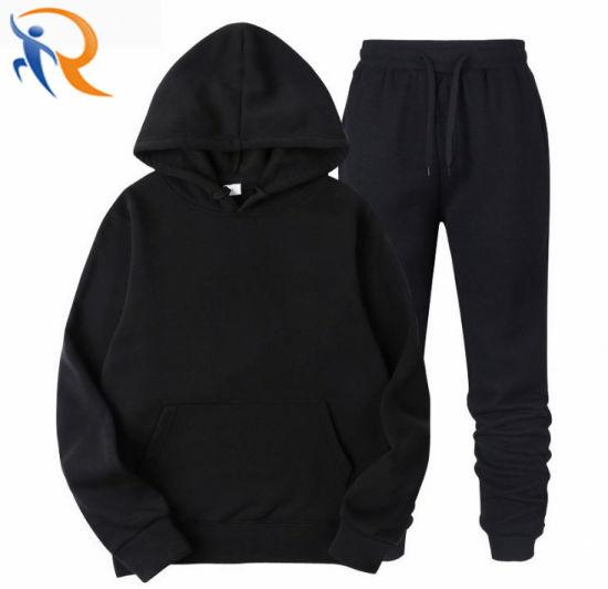 Men Hoody Sweat Suits Wholesale Blank Jogging Suits Sport Track Suit