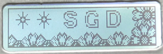 SGD-LCM-GY1303A209-LCD DISPLAY