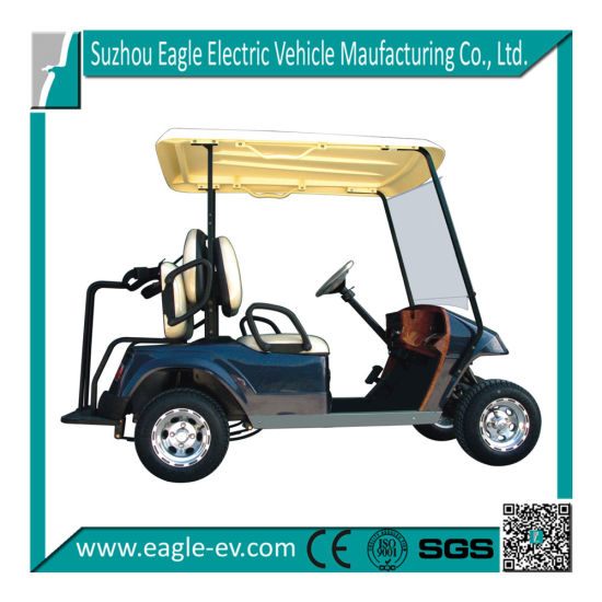 Electric Golf Cart Eg2028t with Rear Seat with Bag pictures & photos