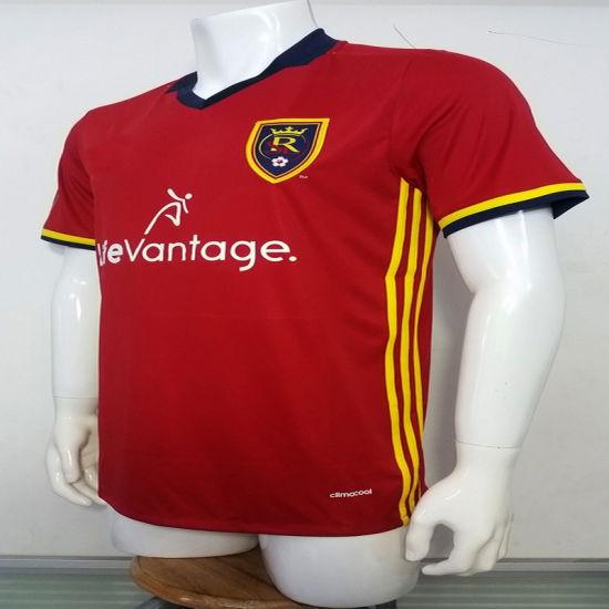buy online 5a270 4a7ae China 2016/2017 Season Real Salt Lake Home Football Uniform ...