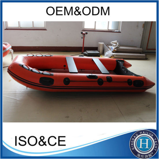 380 Rubber PVC Inflatable Boat Foldable Inflatable Boat pictures & photos