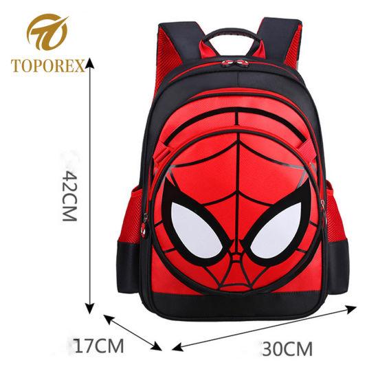 China Hot Sale Carton Spider Primary School Shoulder Backpack Bag ... 77385cc7def54