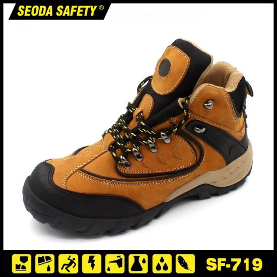 Fashion Design Safety Work Shoes with Wear Resistant Overcap pictures & photos