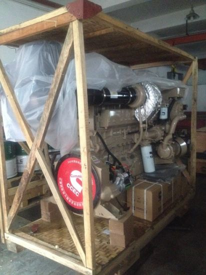300HP Cummins Marine Diesel Engine for Fishing Boat Dredger Boat pictures & photos