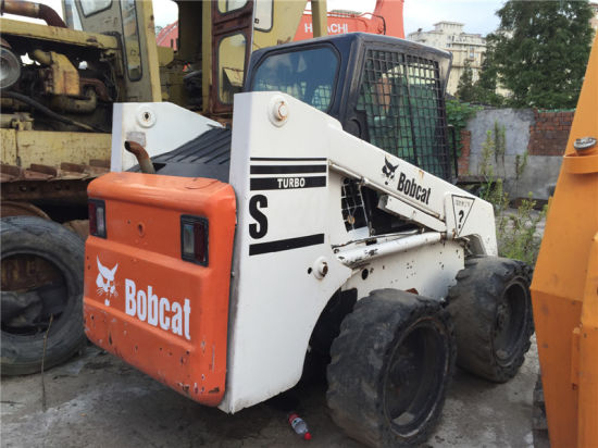 China Used Bobcat Skid Loader S185 (Bobcat S185 Wheel Loader