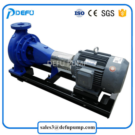 500gpm Electric End Suction Water Centrifugal Irrigation Pumps